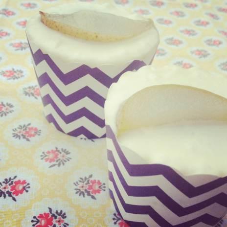 Pear and Chocolate Cupcakes main
